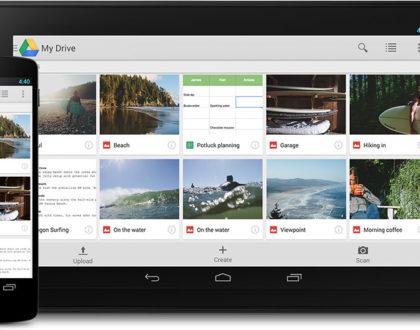 Google Drive: Αποθηκεύστε και μοιραστείτε τα αρχεία σας.