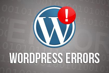 Τα πιο κοινά σφάλματα WordPress και πώς να τα διορθώσετε!